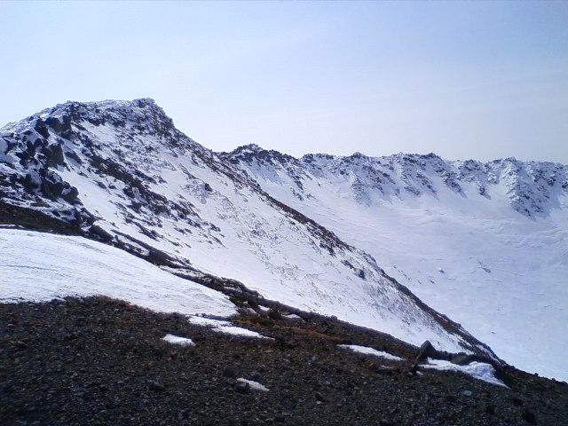 羊蹄山登頂