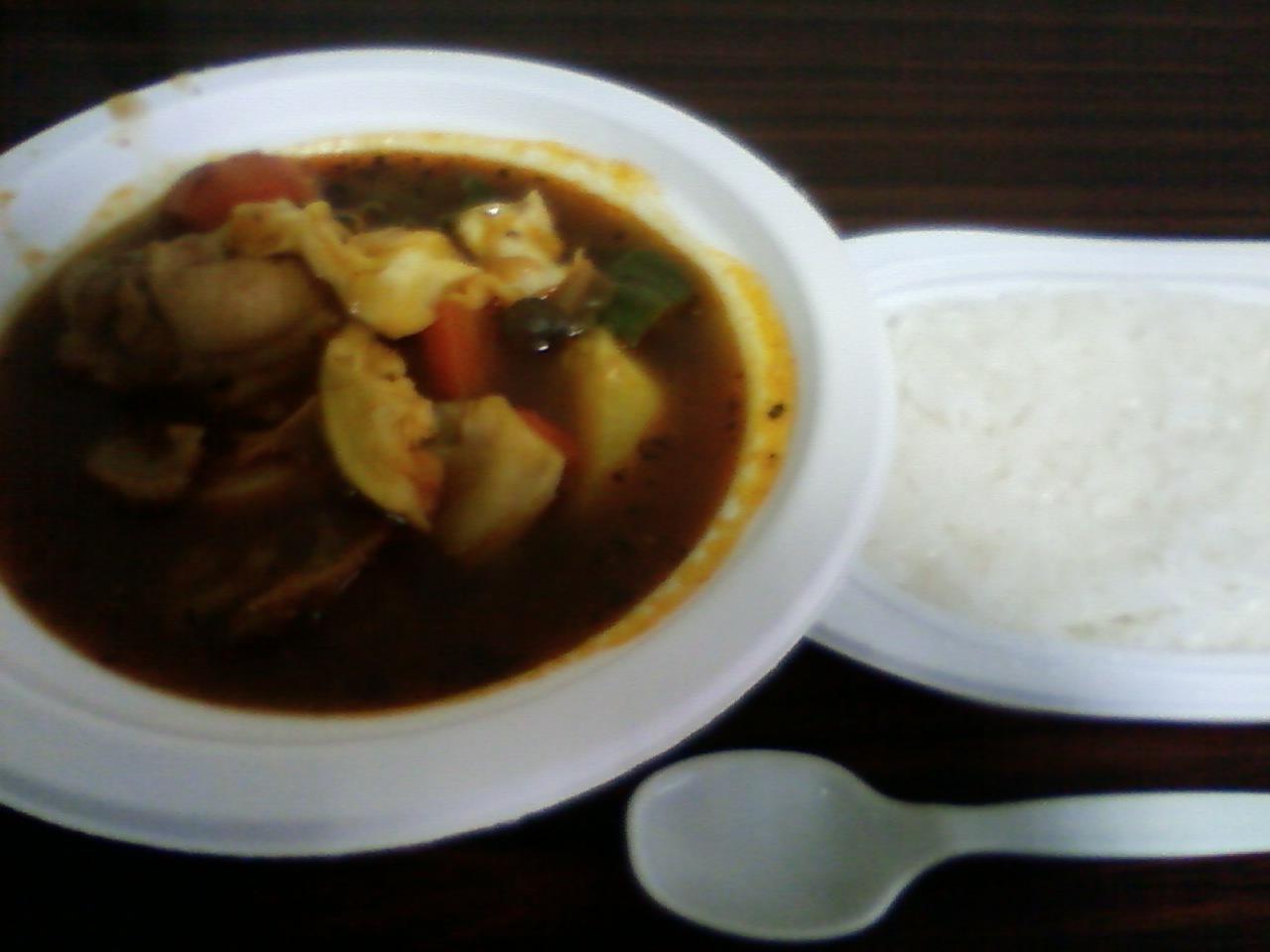 猿払でスープカレー