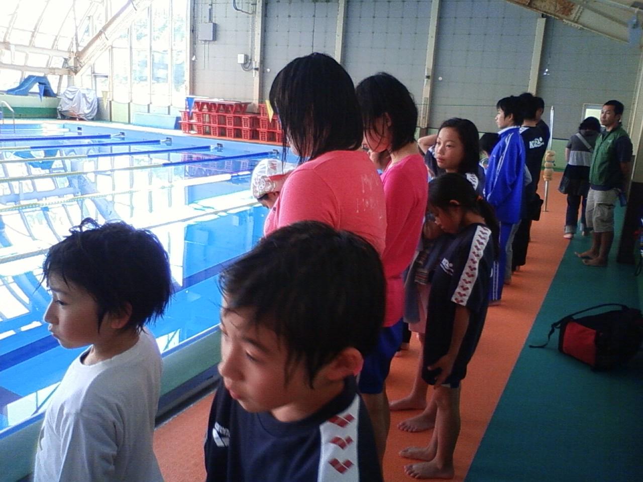 町民水泳大会