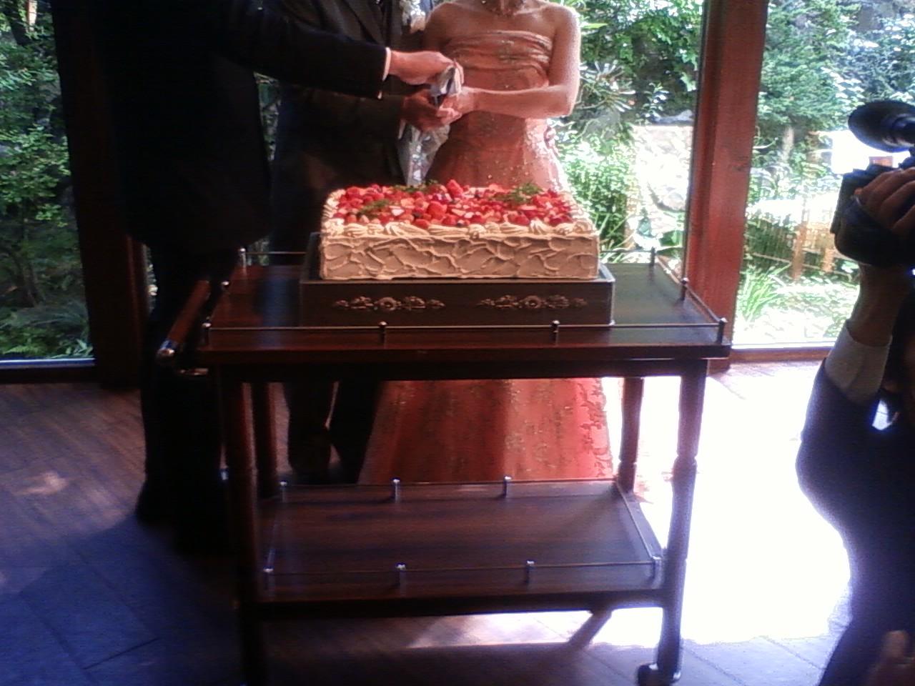 結婚式です
