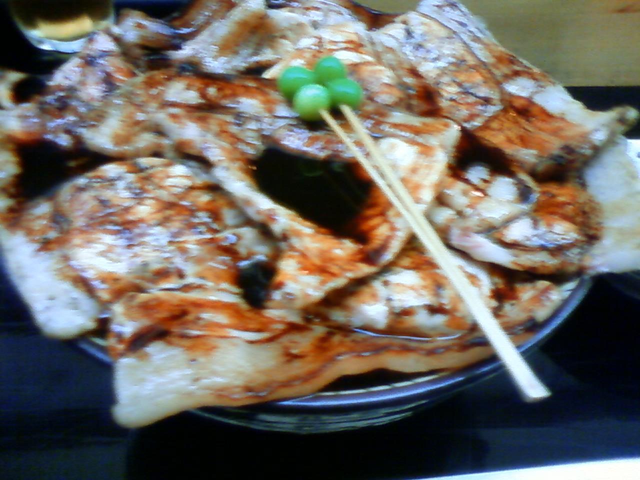 帯広で豚丼