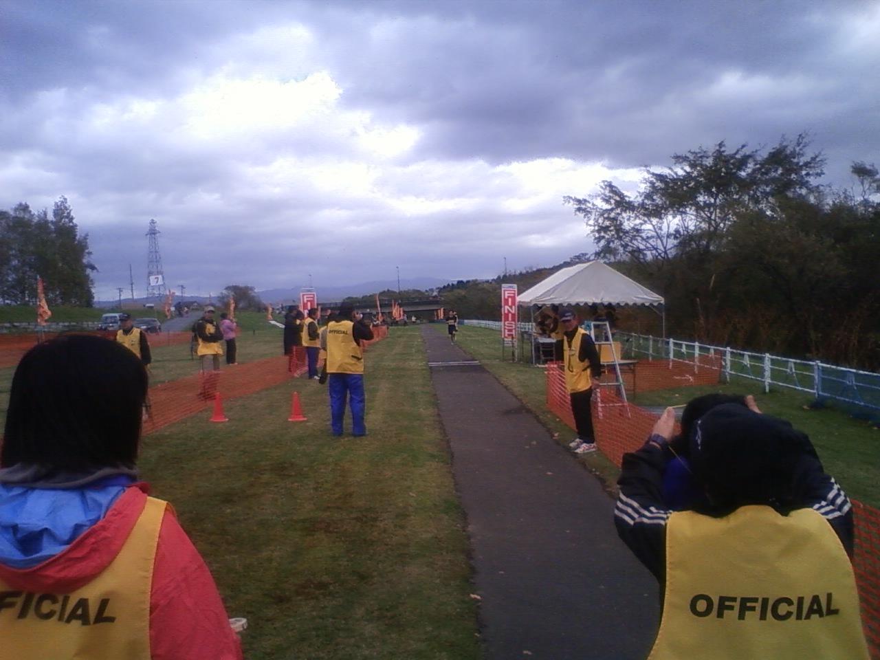 リバーサイドマラソン5キロ3位
