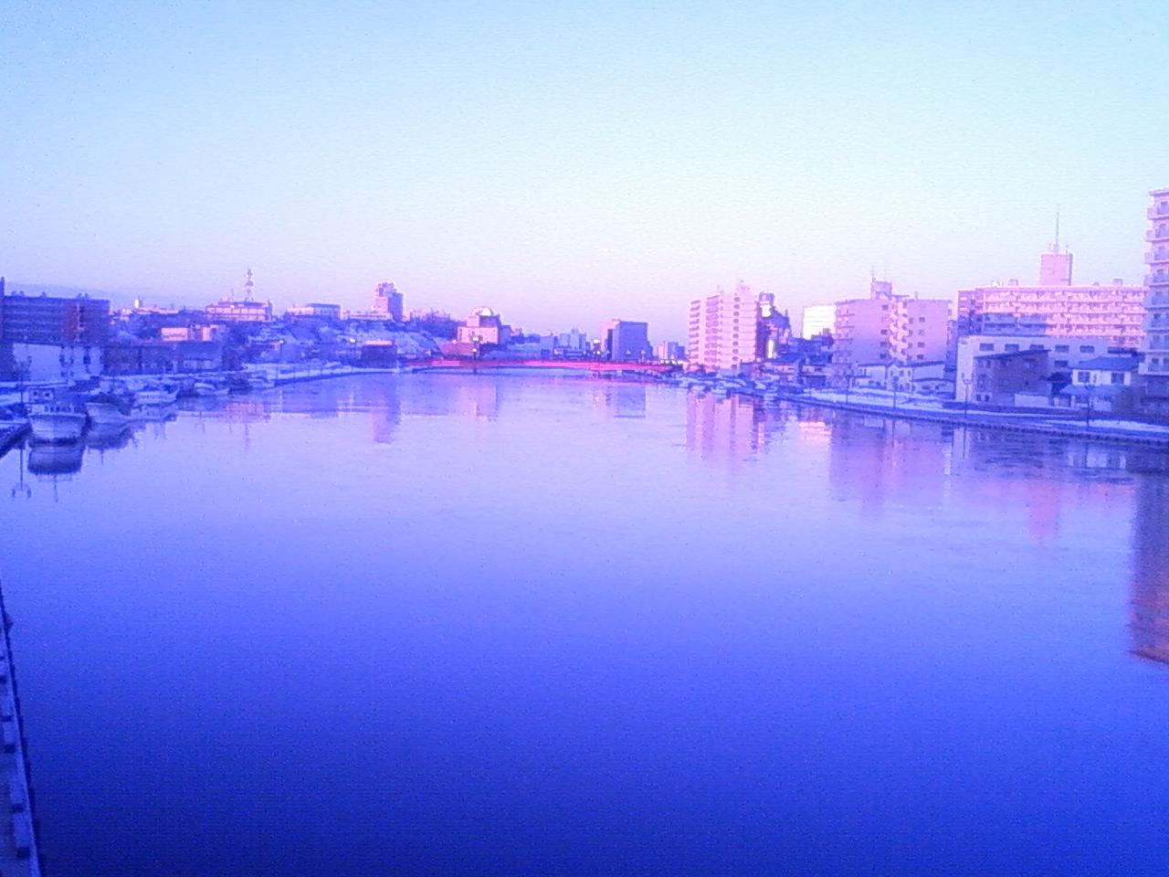 釧路、朝ラン