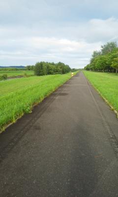 帯広ペース走20km