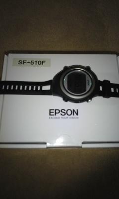 新しい時計エプソン
