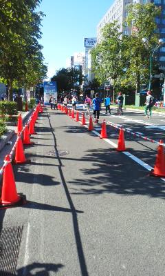 北海道マラソン2016スタート前