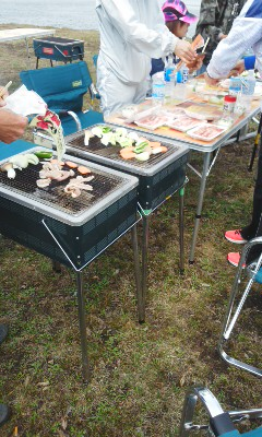 BBQ RUN@ポロト湖