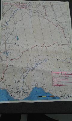 地図と上位三人の成績