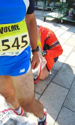 まもなく北海道マラソン