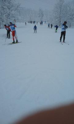 スキーO合宿2日目