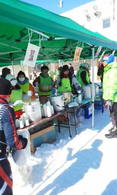 宮様国際スキーマラソン8位入賞