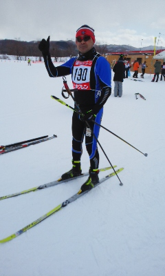 湧別北大雪コース2018準優勝