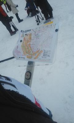 スキーオリリレー2位