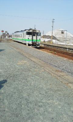 列車で旭川へ