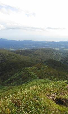 昆布岳トレラン