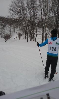 スキーO世界選手権選考会