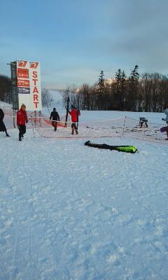 湧別クロカンスキー大会北大雪コース2位